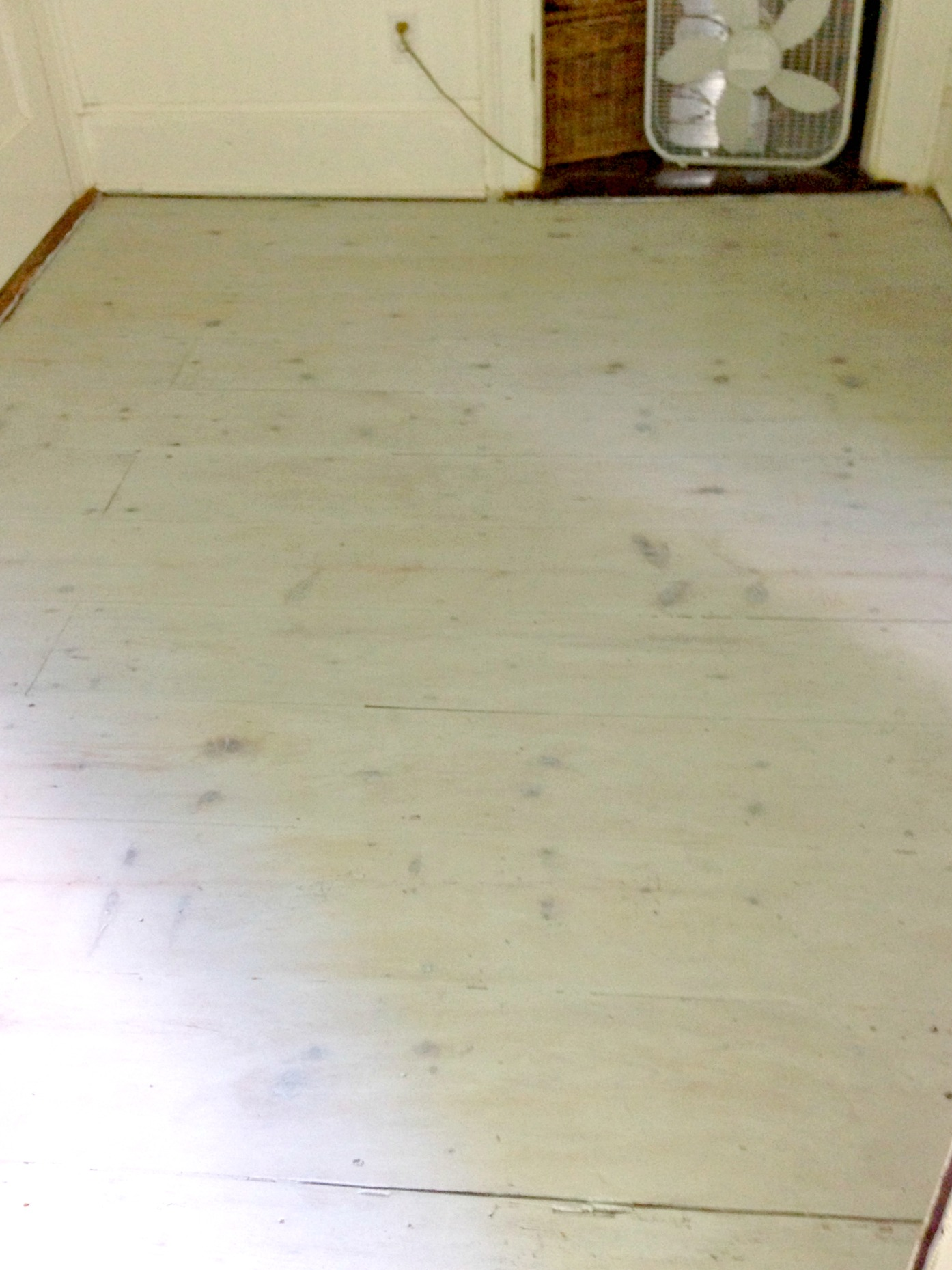 mudroom floor white washed