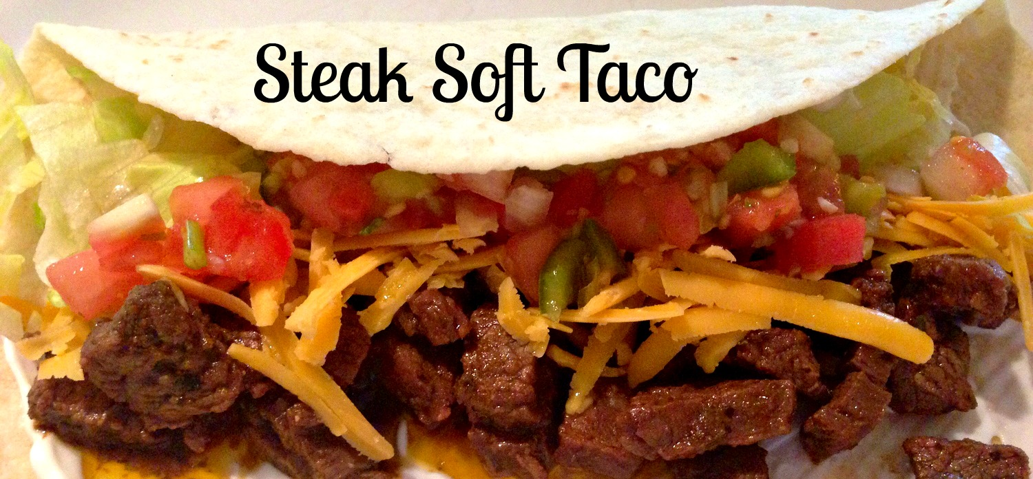 steak soft taco