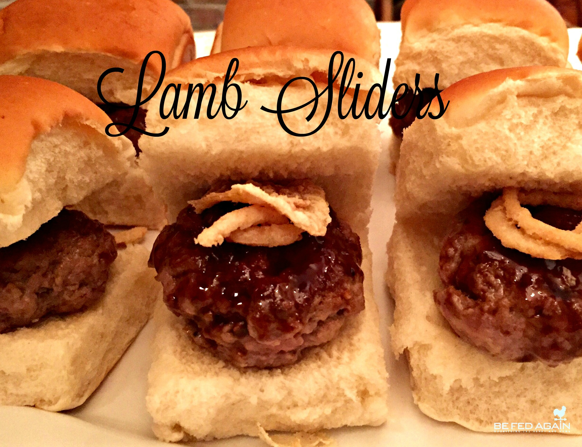 -lamb sliders