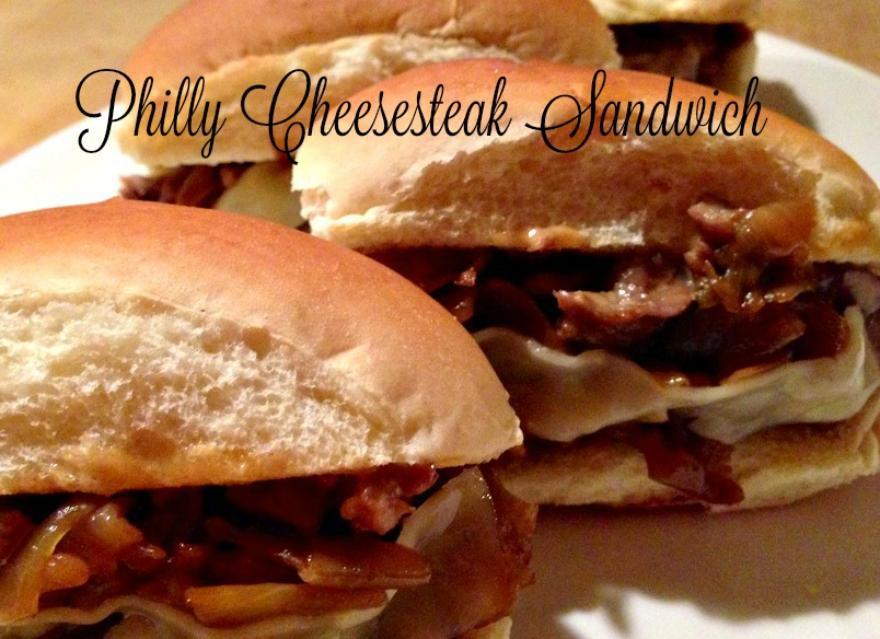 philly cheesesteak sandwich 2