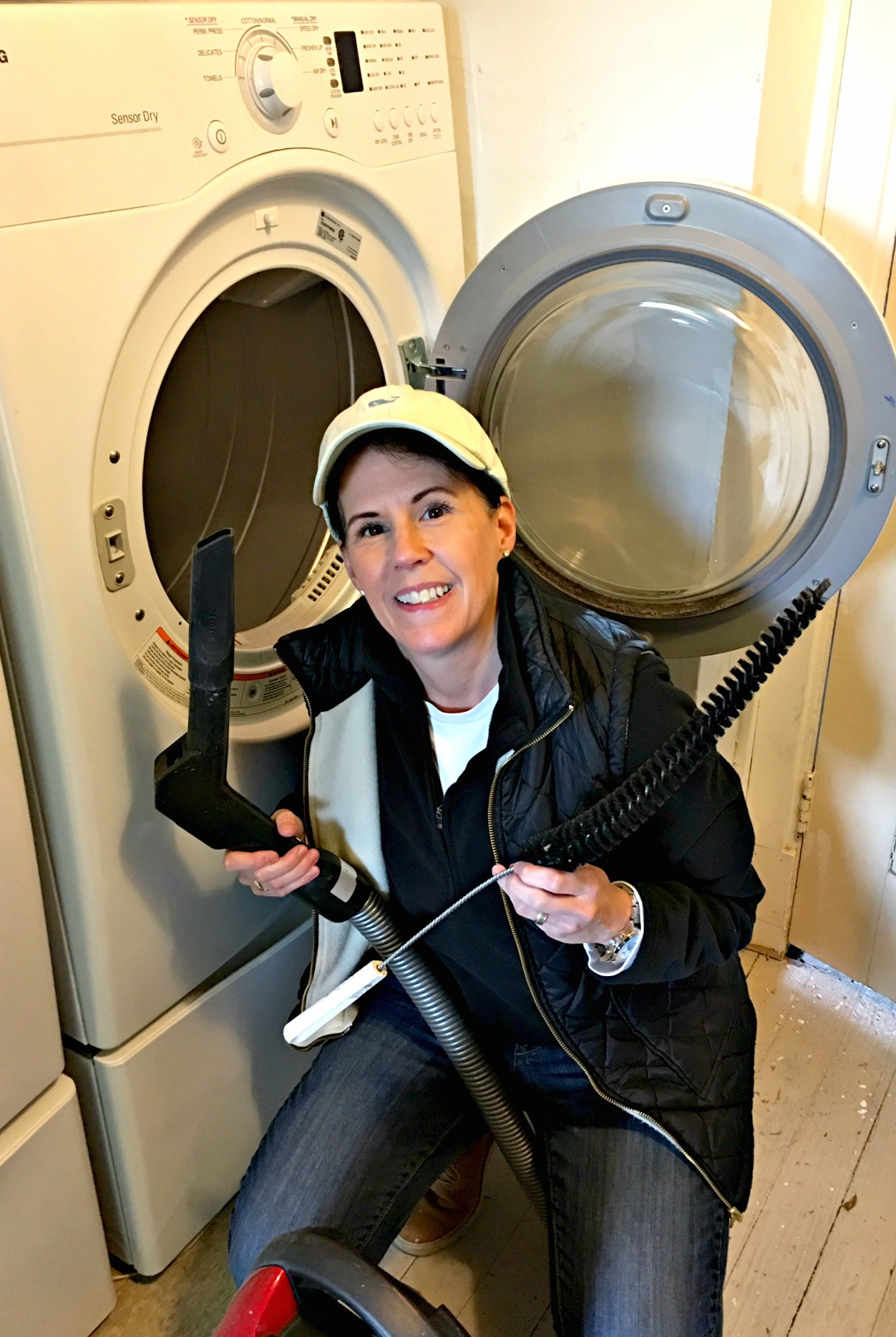 dryer safety tips - DIY Dutchess shares how to's